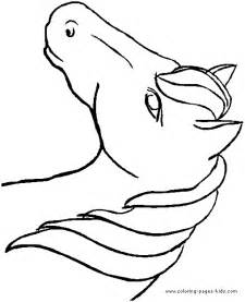 coloring pictures of horses heads free coloring pages of horses