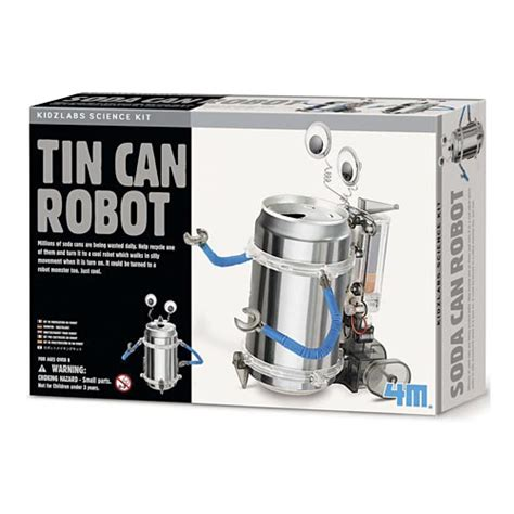 tin can robot increase your child s science knowledge with tin can robot