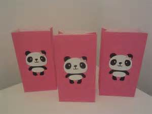 Panda Favors by Panda Treat Bags Birthday Goody Bags Favors By