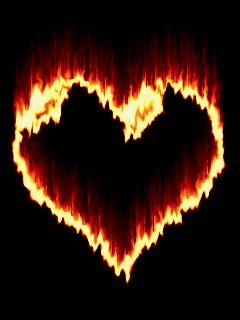imagenes goticas brillantes 5 im 225 genes de corazones en movimiento luminosos para