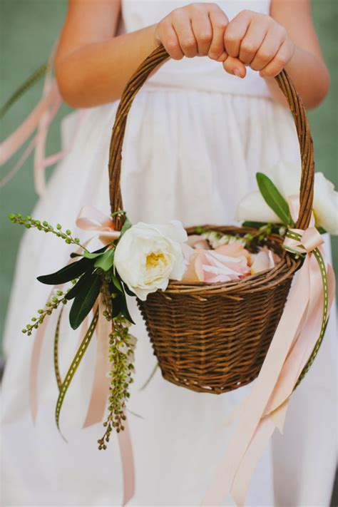 Flower Wedding Baskets flower basket captures pretty to ignore mon