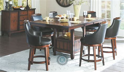 Dining Room Sets Counter Height Bayshore Extendable Counter Height Dining Room Set From Homelegance 5447 36xl Coleman Furniture
