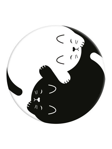 Home Design Shop Online Uk by Popsockets Yin Yang Kitten Phone Stand And Grip Buy