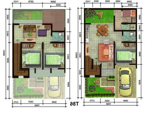 pembangunan denah rumah  lantai minimalis renovasi