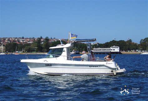 arvor boat photo gallery sydney harbour escapes - Fishing Boat Hire Rose Bay