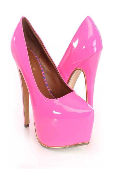 Pink Heel Df176 4 shine bright like a with these oh so fashionable