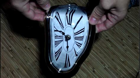 salvador dali melting clock vintage retro home interior