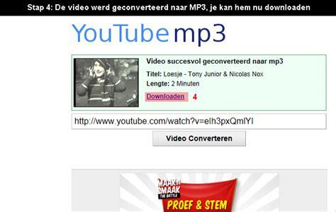 download youtube mp3 nl hoe muziek van youtube downloaden en opslaan als mp3