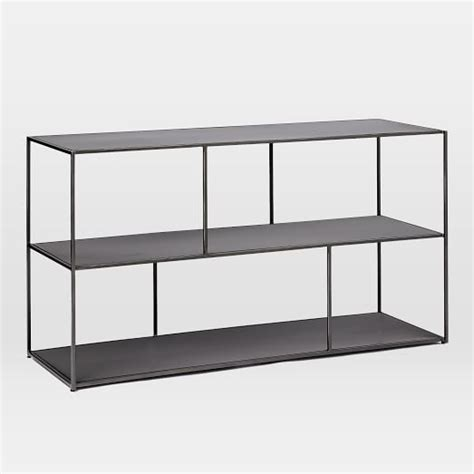 linnea bookshelf console west elm