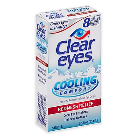 clear eyes cooling comfort buy clear eyes 174 5 oz cooling comfort redness relief from