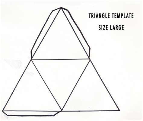 How To Make A 3d Triangular Pyramid Out Of Paper - diy 3d geometric sculpture make