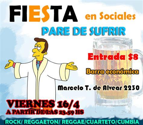 imagenes para viernes de fiesta viernes 16 4 fiesta en sociales uba argentina