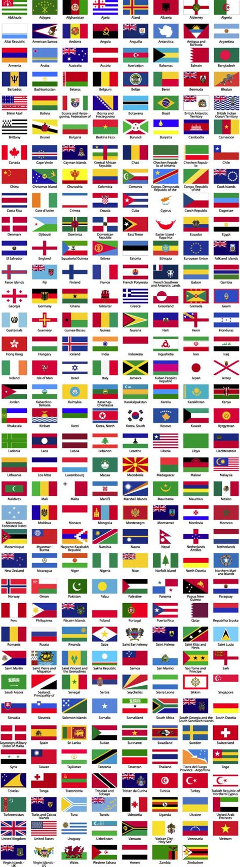 flags of the world fotw 世界287ヵ国の国旗 無料ベクターイラスト素材 all free clipart