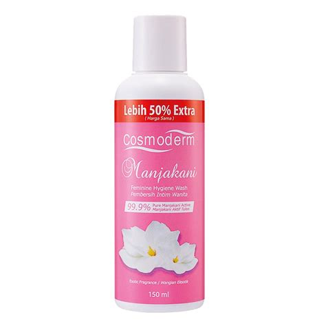 Facetwoface Feminine Hygiene With Manjakani Health Shop Cosmoderm Manjakani Hygiene Wash 150ml