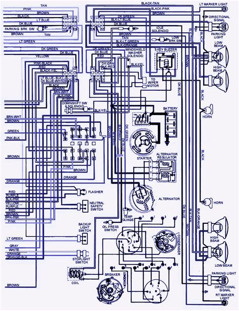 1967 pontiac firebird alternator wiring diagram wiring