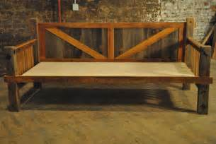Wooden Daybed Frame Items Similar To Barn Wood Daybed On Etsy