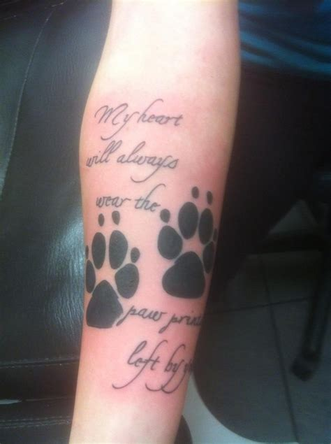 infinity paw print tattoo infinity with paw prints quotes