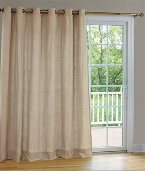 Beautiful Patio Panel Curtains 1 Sliding Patio Door Curtains For Patio Sliding Doors