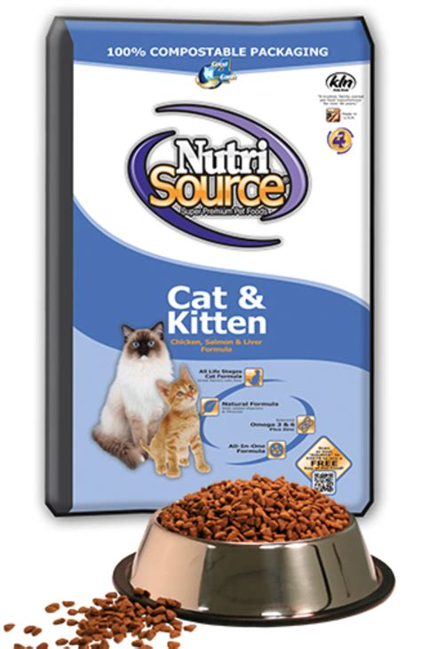 Nutri Source Cat Kitten Salmon 1 nutrisource salmon and liver cat and kitten chicken food