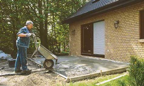 Zementboden Selber Machen by Fundamente Selbst De