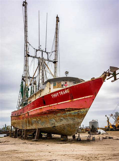 steel shrimp boats for sale in louisiana louisiana shrimp boat 2 photograph by steve harrington