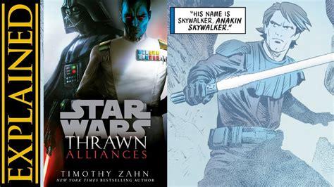 thrawn alliances star wars 1780898665 thrawn alliances excerpt hints at how thrawn met anakin on batuu youtube