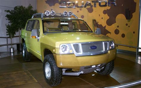 concept ford truck best and worst truck concepts that were never built