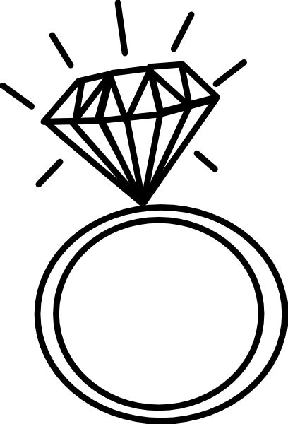 engagement ring cliparts the cliparts