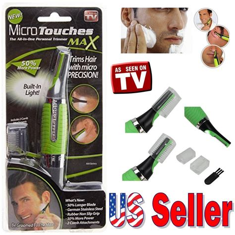 Micro Touch Magic Max Hair Groomer Pisau Cukur micro touch max personal ear nose neck eyebrow hair trimmer groomer remover usa ebay