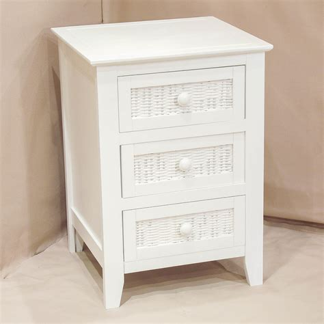 White Bedroom Side Tables | furniture using new bedside tables with storage in modern