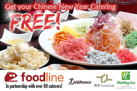 new year catering singapore foodline new year lucky draw