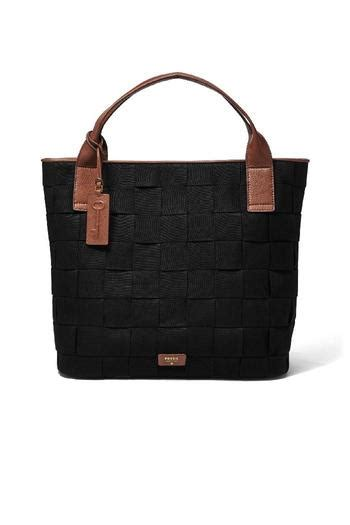 Tas Fossil Original Fossil Emerson Tote Black fossil emerson woven tote from by shoptiques