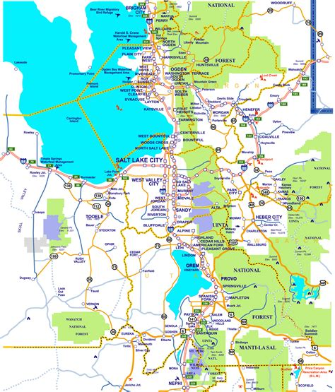 area map area maps utah ski authority