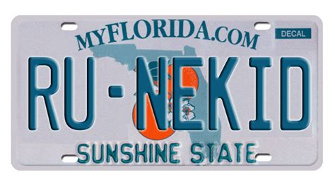 Florida Dmv Vanity Plates by 1 800 License Plates Banned By Florida S Dmv