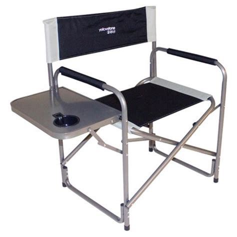 Folding Directors Chair With Side Table Buy Yellowstone Director Chair Folding Cing Chair With Side Table From Our All Garden