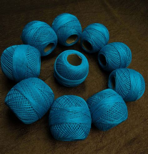 knitting with sewing thread 10 pcs cotton crochet thread knitting embroidery yarn