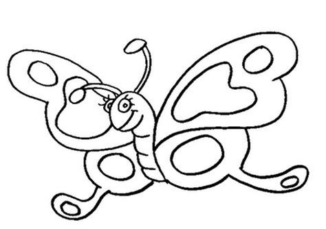 Free Coloring Pages Of Butterflies For Printing | free printable butterfly coloring pages for kids