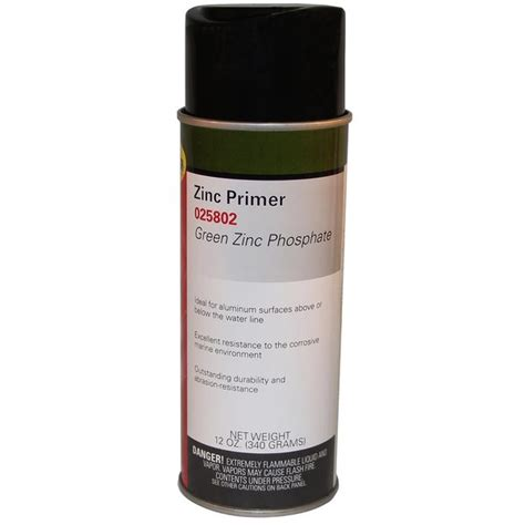 zinc boat paint moeller zinc phosphate primer spray green west marine