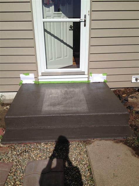 diy      front step    paint
