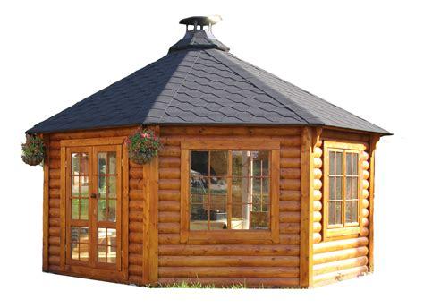 Holzpavillon Günstig by Gartenpavillon Gartenhaus Aus Bestem Holz Mit Grill Und