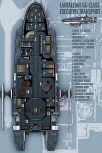Starship Floor Plans Lantallian Gx Class Exec Transport By Boomerangmouth On