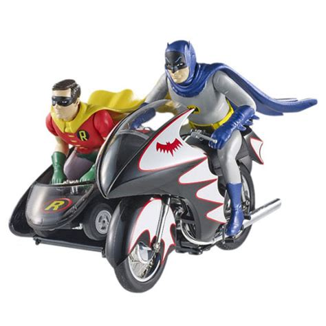 Set Emilia Batwing batman 1966 tv 1 12 batcycle and figures wheels