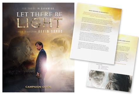 let there be light movie 2017 church resources let there be light