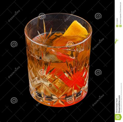 old fashioned drink stock image image of distilled