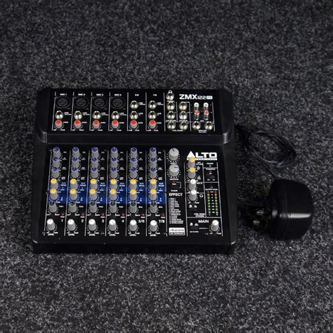 Mixer Alto Zmx122fx alto zmx122fx 8 channel compact mixer with effects 2nd