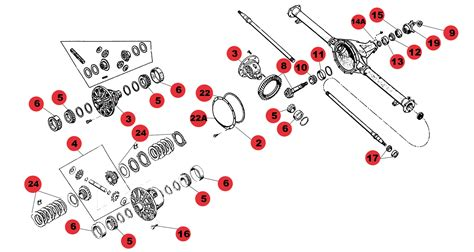 amc 20 axle diagram shop by diagram jeep axle parts axle for rear amc