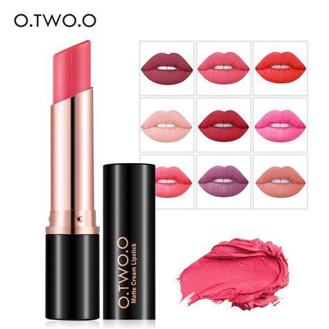 No 12 Proof Lip Matte Limited Kissproof Waterproof Lipstick Murah o two o 12 colors waterproof lipstick proof lipstick matte cosmetics make up lip in