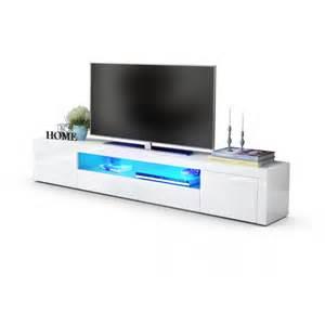 agréable Meuble Tv Laque Blanc Led #1: meuble-tv-moderne-laque-blanc-200-cm-avec-led.jpg