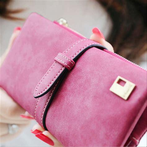 Ef Dompet Kartu Wanita Bahan Nubuck dompet kulit wanita model panjang pink jakartanotebook