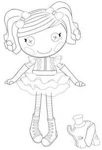 lalaloopsy desenhos imprimir colorir pintar das lindas bonecas discovery kids